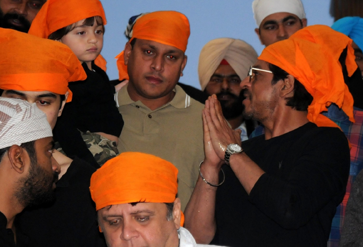 SRK- Amritsar-3