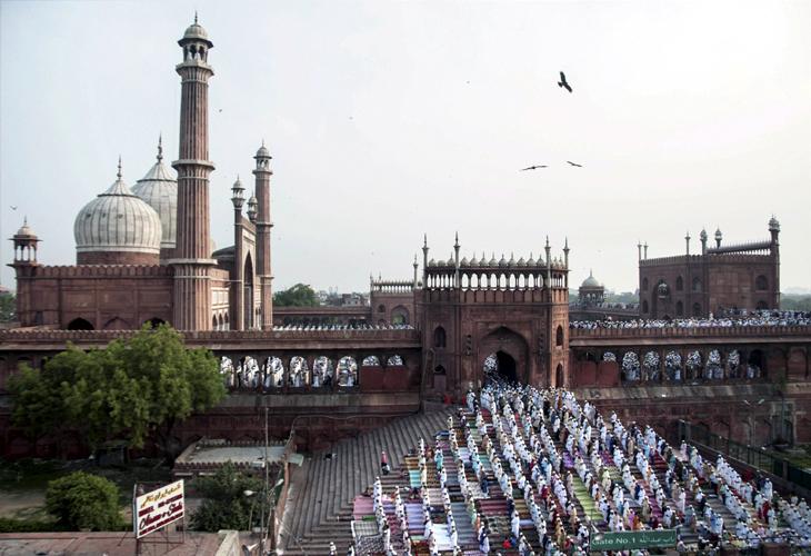 New Delhi Eid @Live