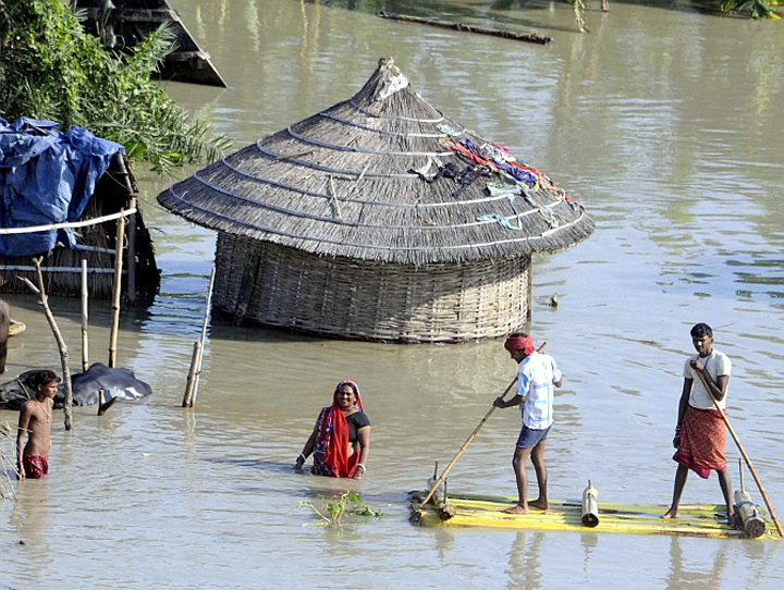 Over 2.5 million affected due to floods in Bihar - Live24 India