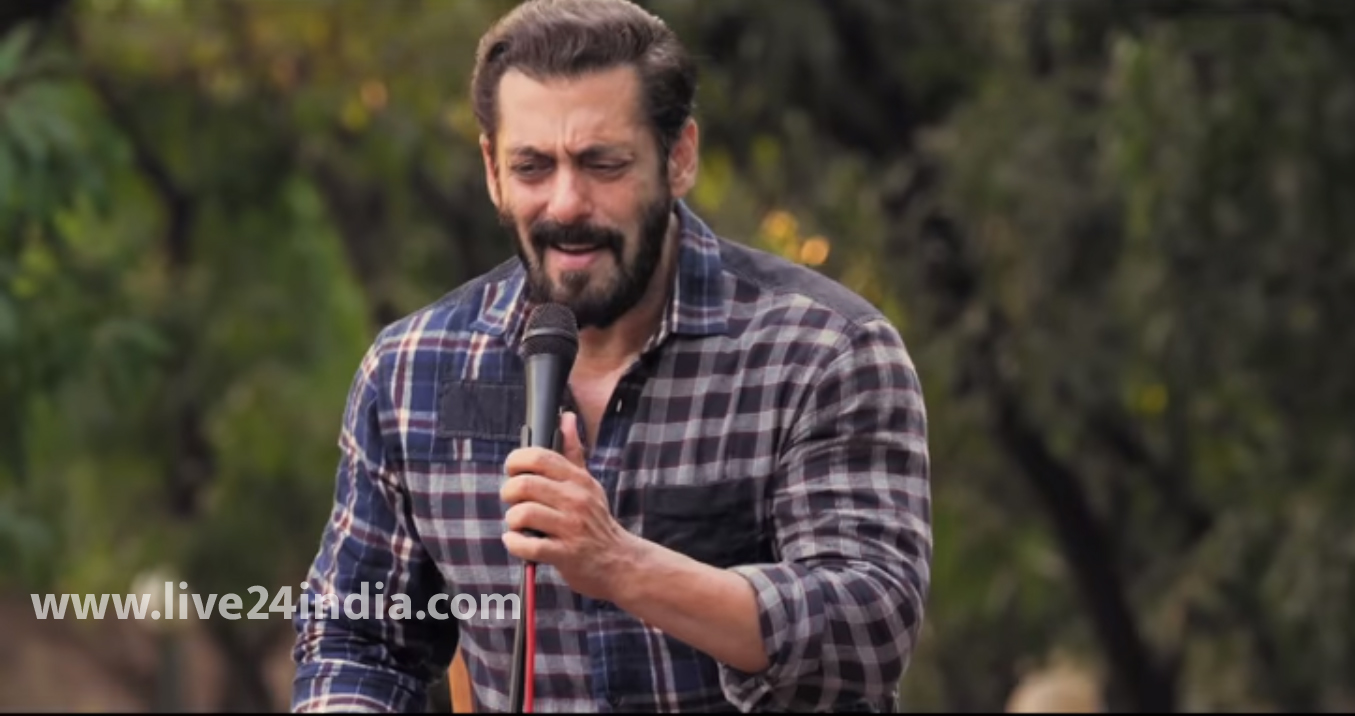 Salman wishes fans 'Eid Mubarak' with releasing his latest song Bhai Bhai